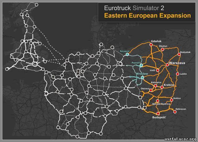 скачать карту украина для евро трек симулятор 2 - фото 8