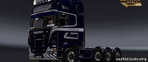 Грузовики Scania R1020 Schwertransport v2.0