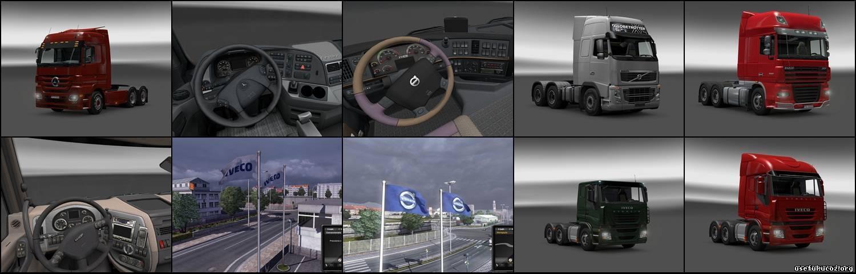 Русские моды euro truck simulator торрент