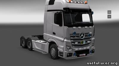 Грузовики Mercedes-Benz Actros MP4 v2.0  тюнинг